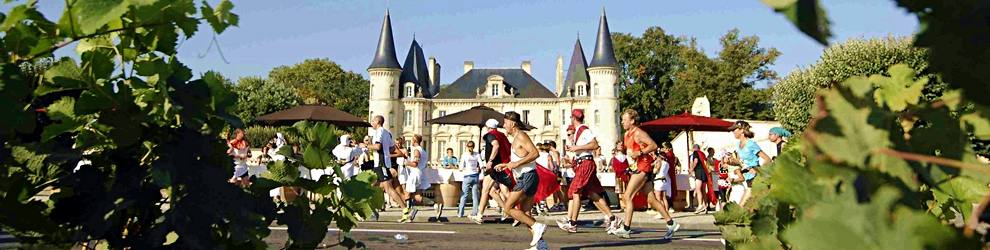 Marathon du Medoc, Bordeaux, France